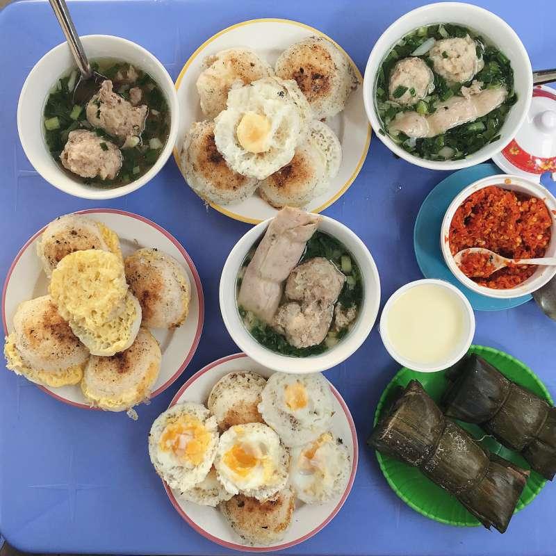 Combo bánh căn thần thánh - ăn vặt ngon hấp dẫn tại tp Đà Lạt