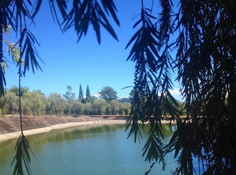 Hồ Tịnh Tâm ở thiền viện Trúc Lâm