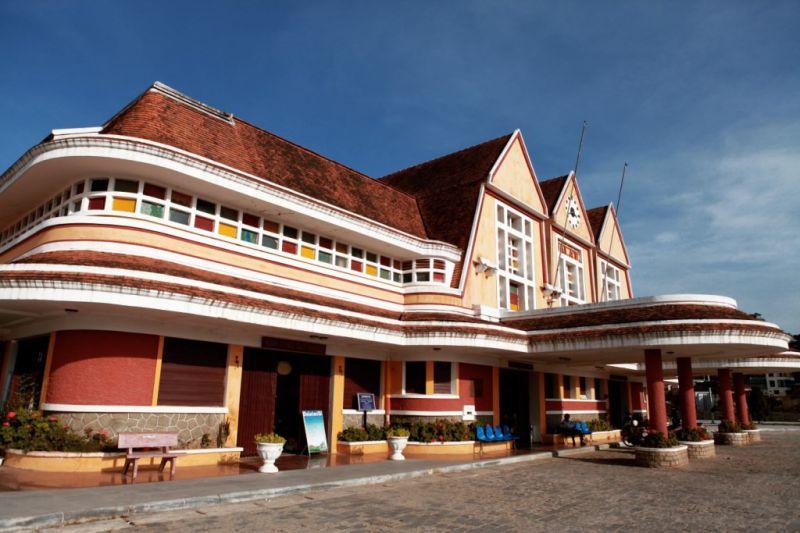 Nhà ga Đà Lạt trong chương trình city tour Đà Lạt 1 ngày