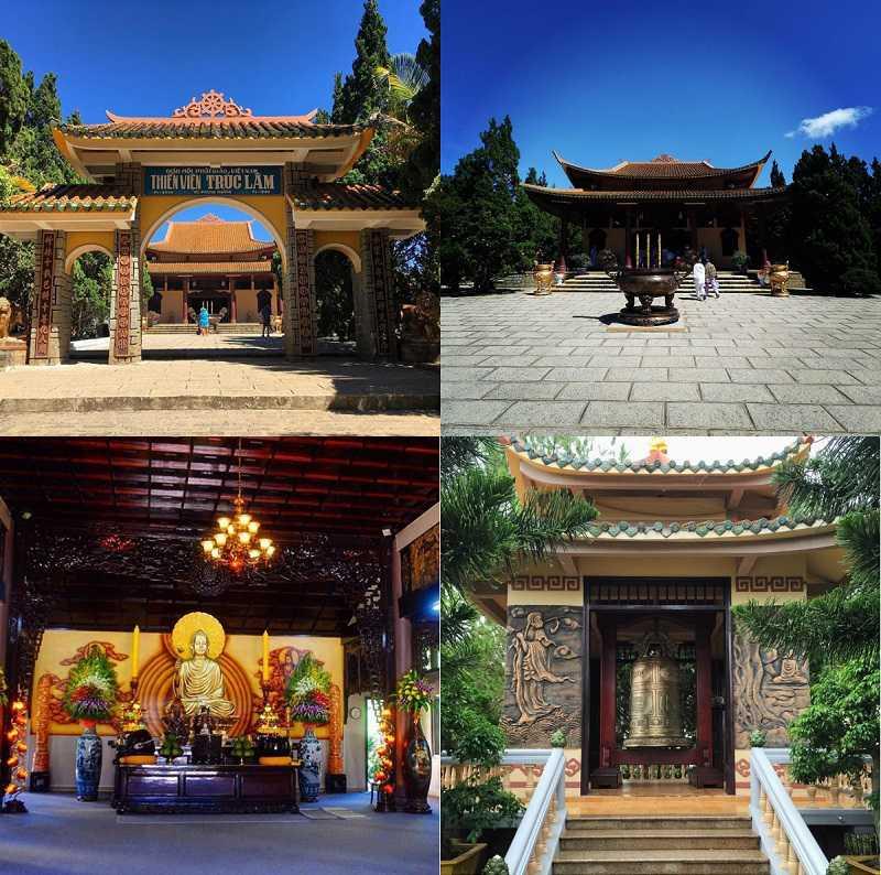 Thiền viện Trúc Lâm thành phố Đà Lạt