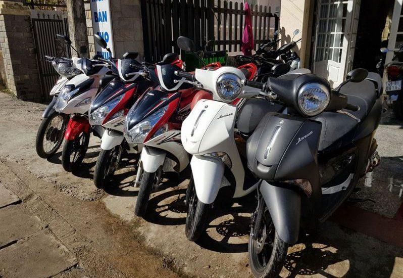Dịch vụ chuyên cho thuê xe máy ở Đà Lạt