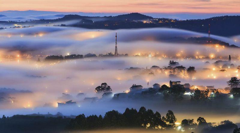 Thời tiết Đà Lạt tháng 11 thường hay có sương mù