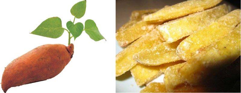 Mứt khoai lang sâm Đà Lạt với hương vị đặc trưng bạn nên nếm thử một lần