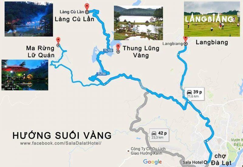 chuong trinh tour da lat