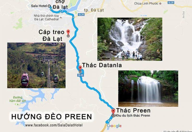 Tuyến du lịch hướng đèo Prenn
