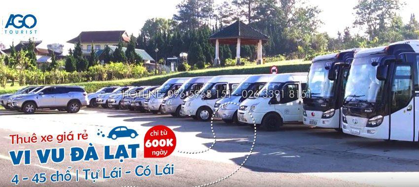 Chuyên cung cấp dịch vụ cho thuê xe oto du lịch Đà Lạt