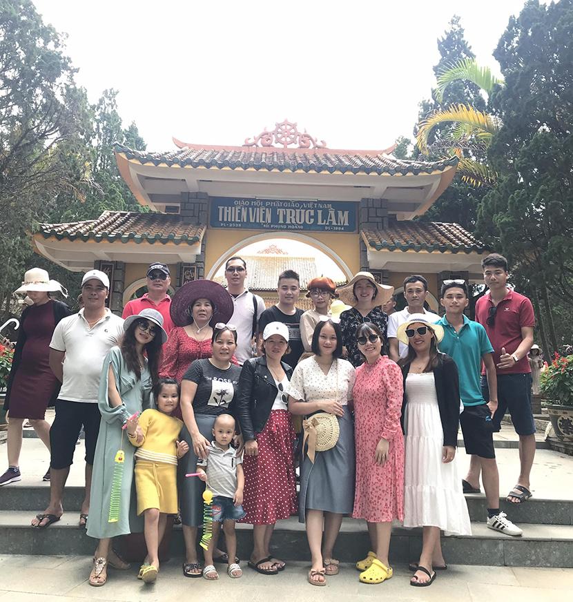 tour du lịch Thiền Viện Trúc Lâm Đà Lạt