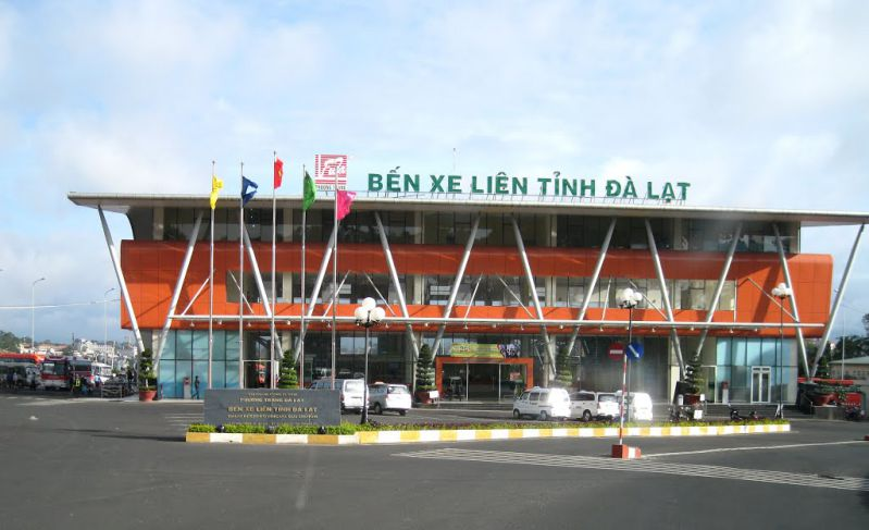 Bến xe Phương Trang ở Đà Lạt