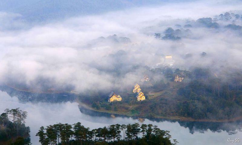 Hồ tuyền lâm thành phố Đà Lạt