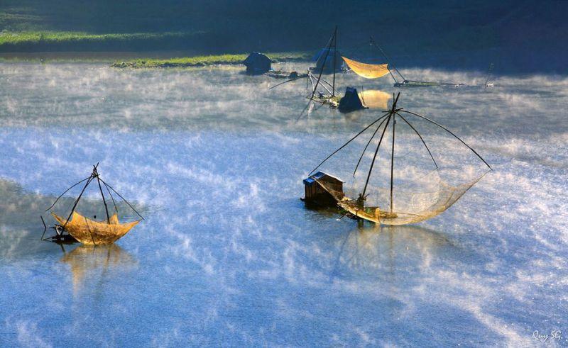 Cảnh đẹp ở hồ tuyền lâm đà lạt