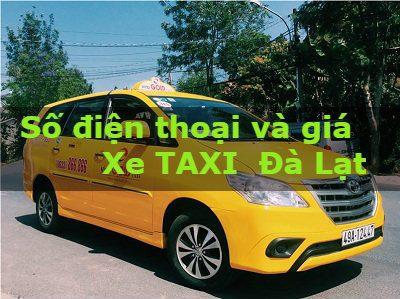 xe taxi đà lạt