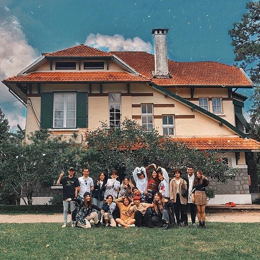 Tour tham quan làng villa Pháp tại Đà Lạt