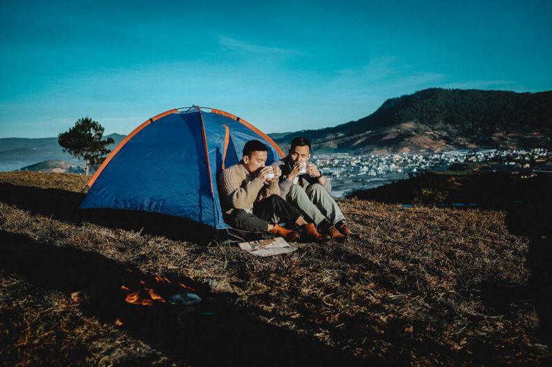 những địa điểm cắm trại ở Đà lạt