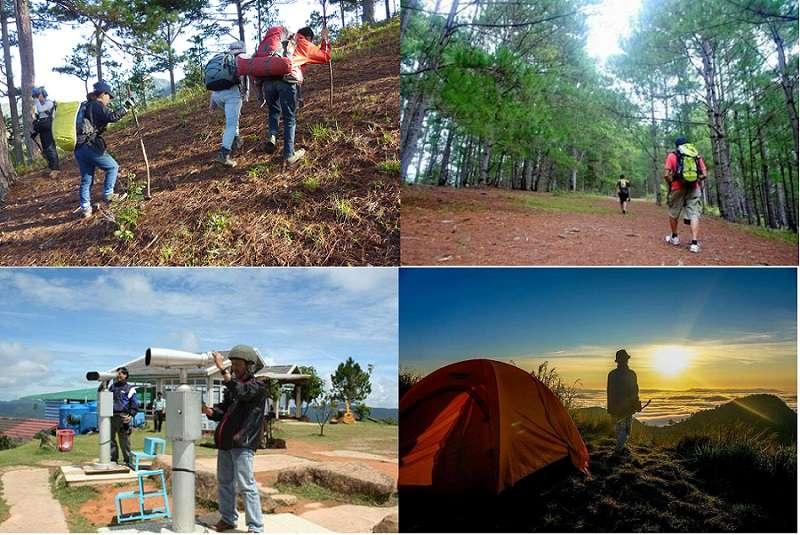 Những hoạt động du lịch diễn ra thường xuyên ở núi LangBiang tp Đà Lạt