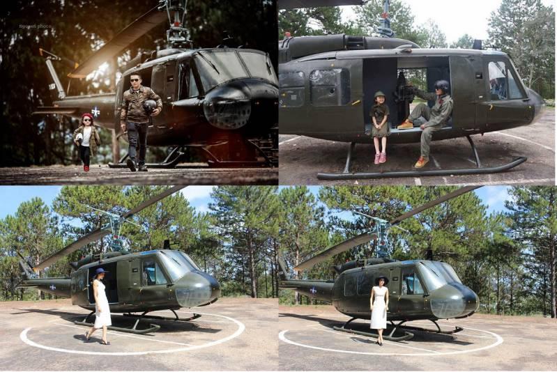 Dinh 1 Đà Lạt máy bay trực thăng