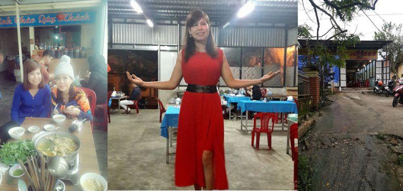 Việt hương thăm quán lẩu gà lá é 668 tại Đà Lạt