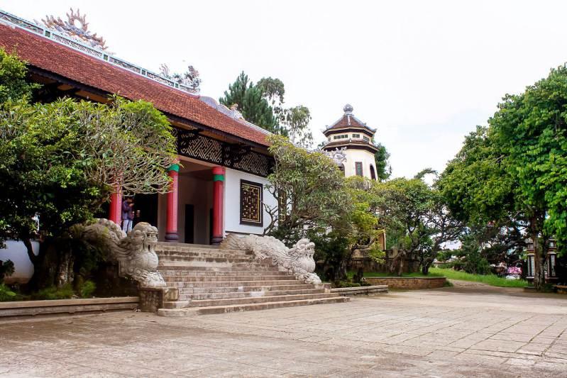 Hình ảnh chùa Linh Sơn