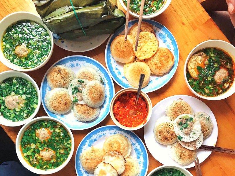 Món ăn đặc trưng cho bữa sáng ở Đà Lạt