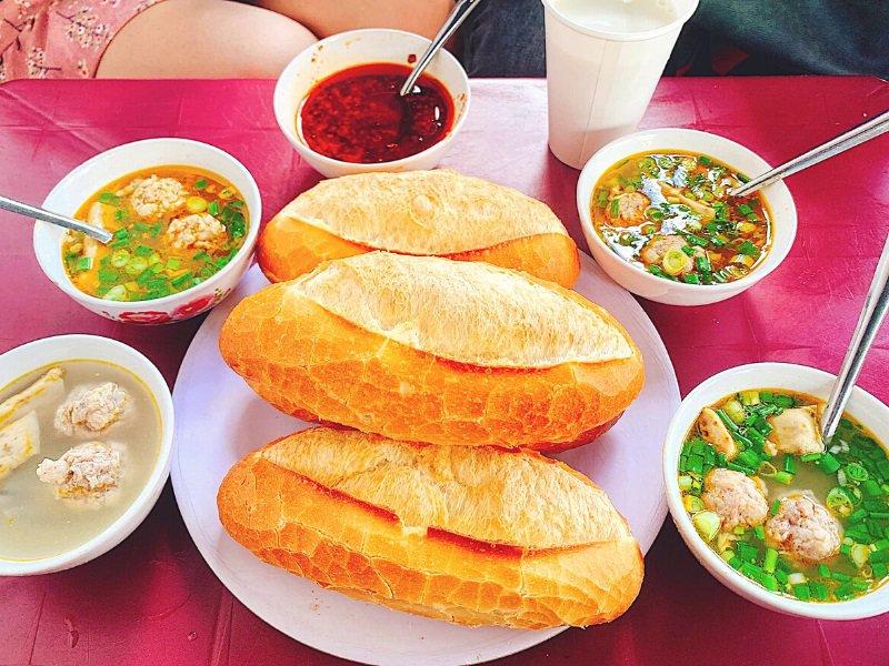 món ăn sáng ở Đà Lạt