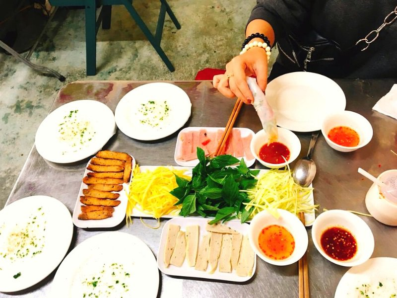 Món ăn cho bữa sáng ở Đà Lạt