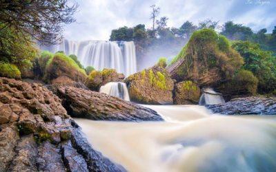 Tour ngoại thành đà lạt tham quan thác voi và chùa linh ẩn