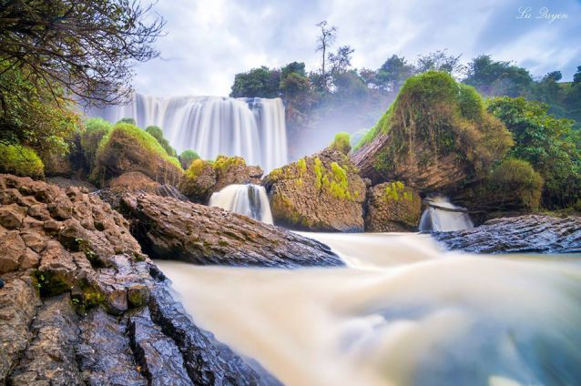 Elephant Falls - The most attractive place in the tour outside Da Lat
