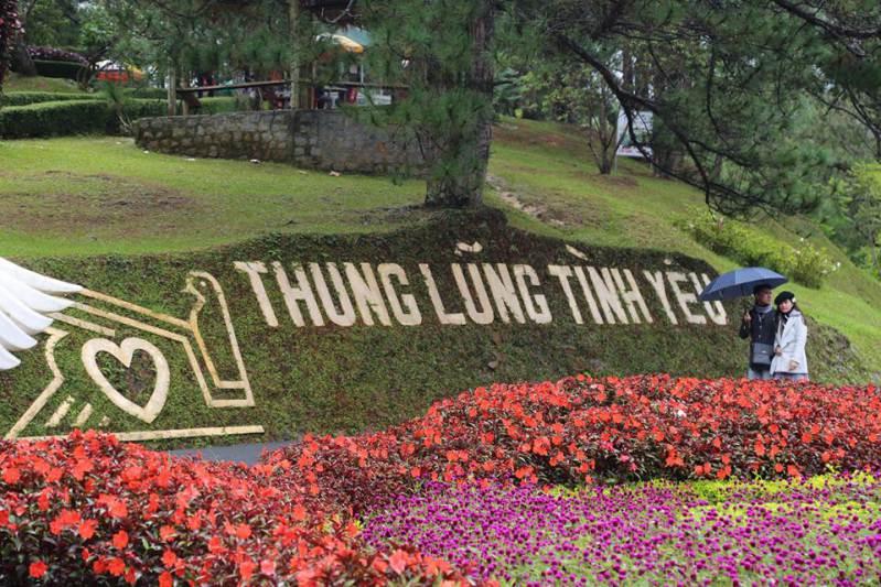 Thung lũng tình yêu đẹp hấp dẫn ở Đà Lạt, Lâm Đồng