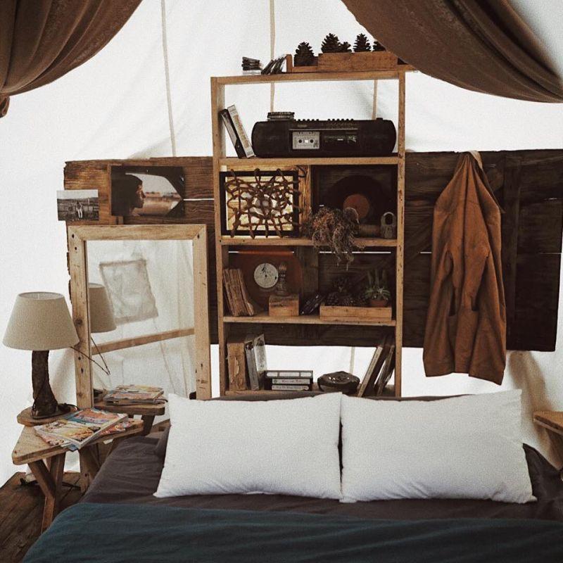 Không gian xinh xắn bên trong The Shelter homestay Đà Lạt