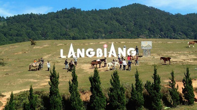 Langbiang ở Đà Lạt, Lâm Đồng