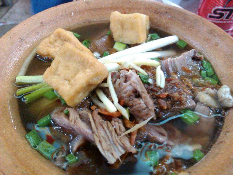 Món lẩu dê Lâm Ký ở Đà Lạt
