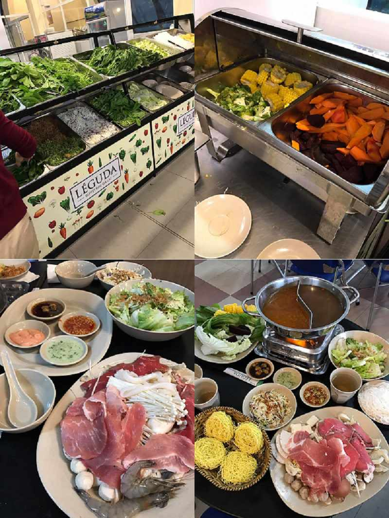 Buffet Lẩu Rau ngon ở Đà Lạt