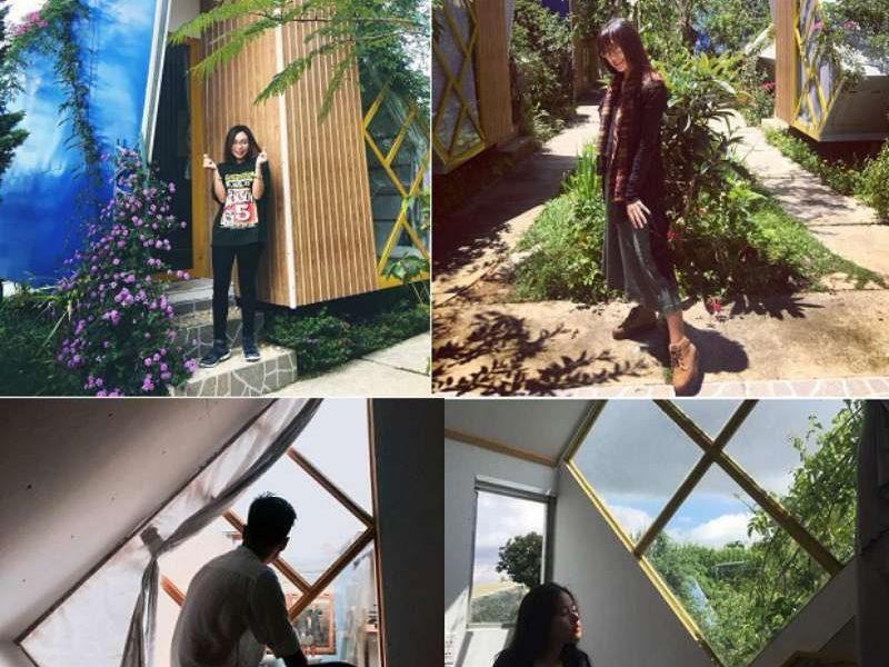 Legume homestay là một địa điểm check-in cực hot ở Đà Lạt hiện tại