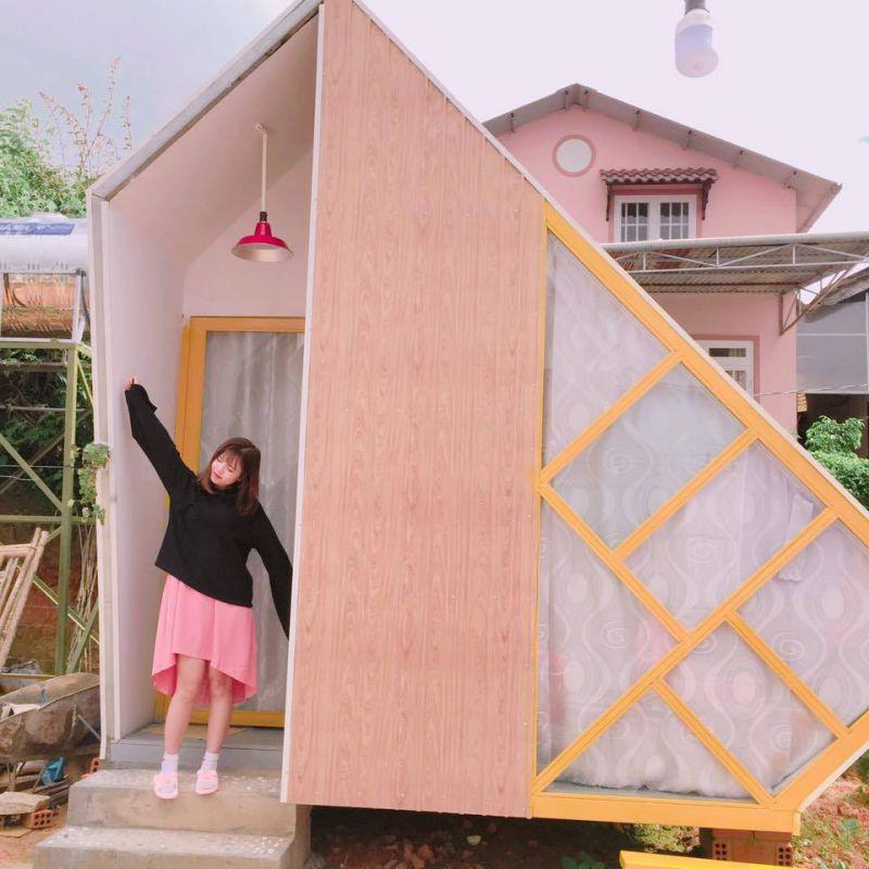 Legume homestay là địa điểm check in cực hot ở Đà Lạt