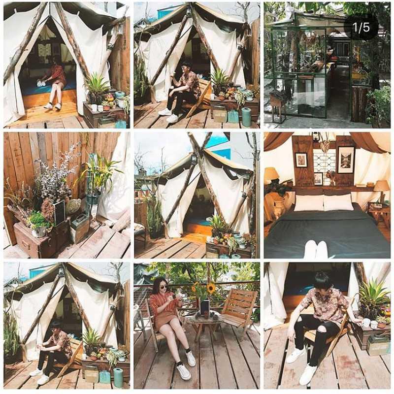 Căn Lều ở của The Shelter homestay tại Tp Đà Lạt