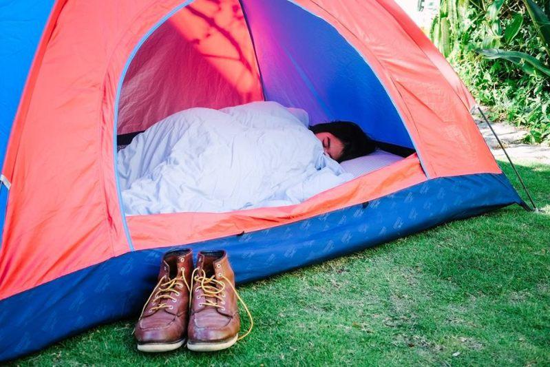 Bỏ nhà đi ngủ lều ở Là Nhà homestay Đà Lạt