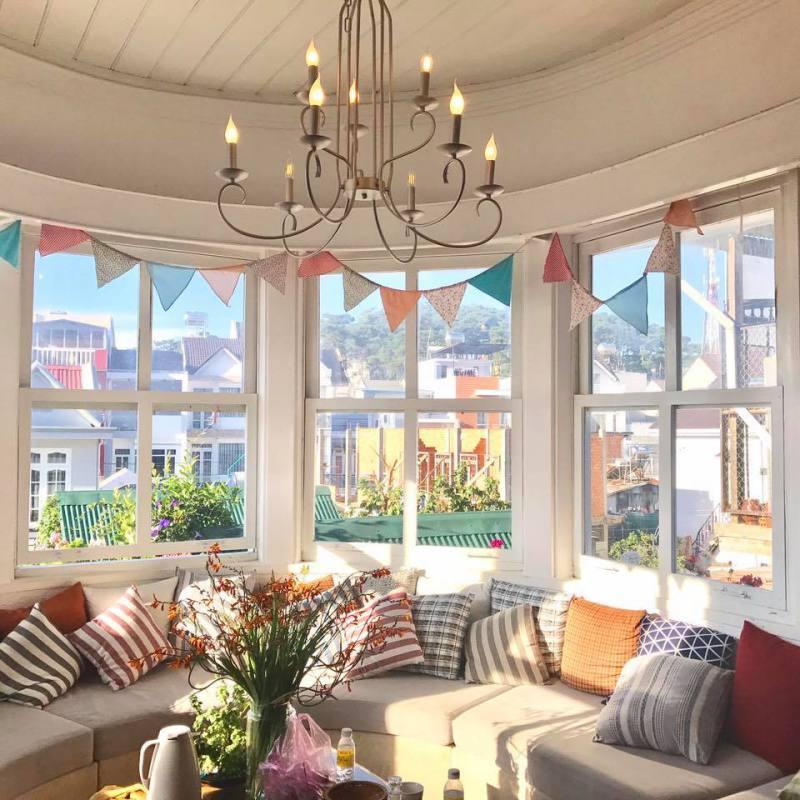 Phòng khách của Là Nhà homestay