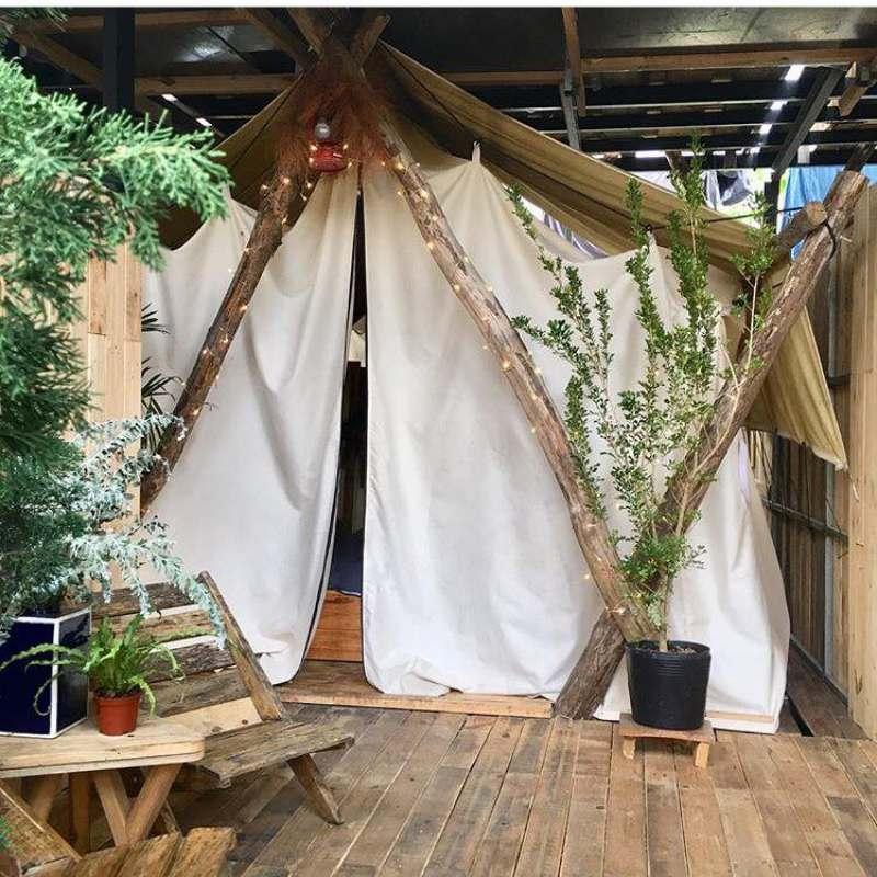 The Shelter homestay Đà Lạt có lều đẹp lãng mạn