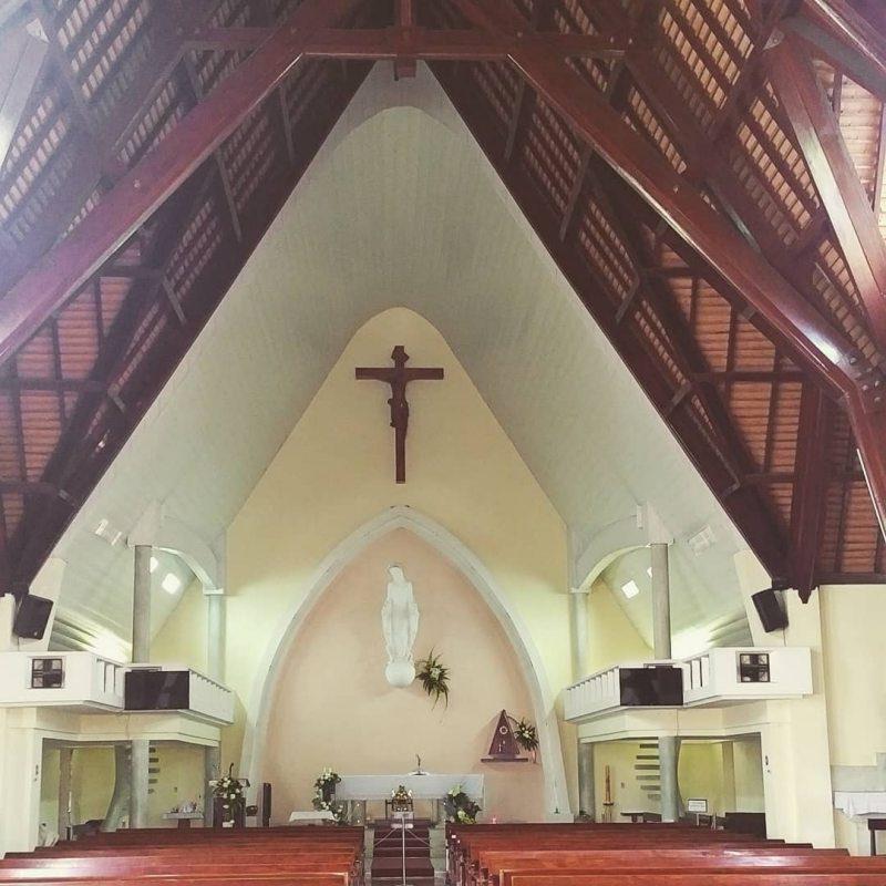 thánh đường của nhà thờ domain