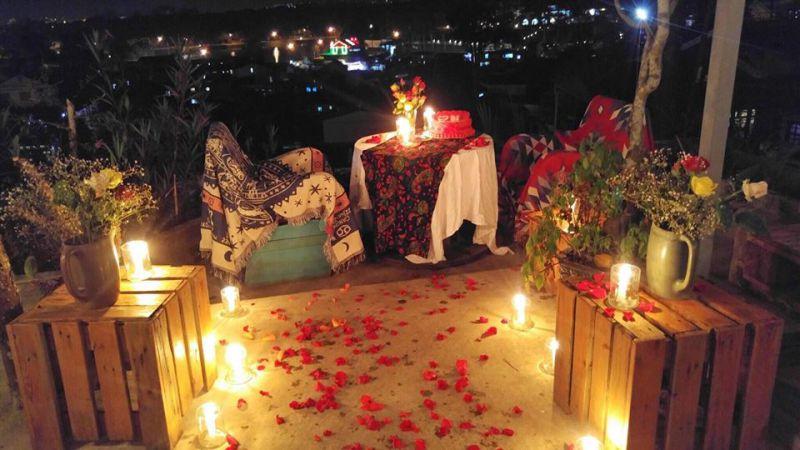 View sống ảo lãng mạn bên trong Sunshine cafe Đà Lạt