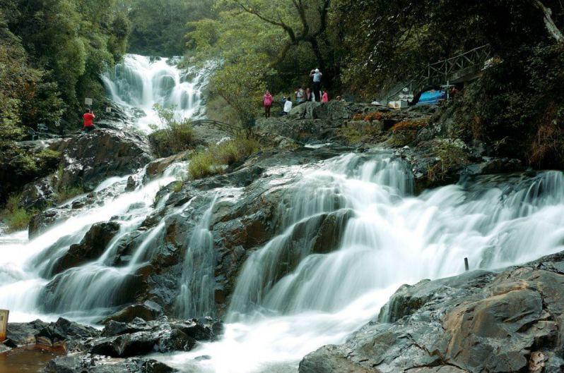 thác Datanla ở Tp. Đà lạt