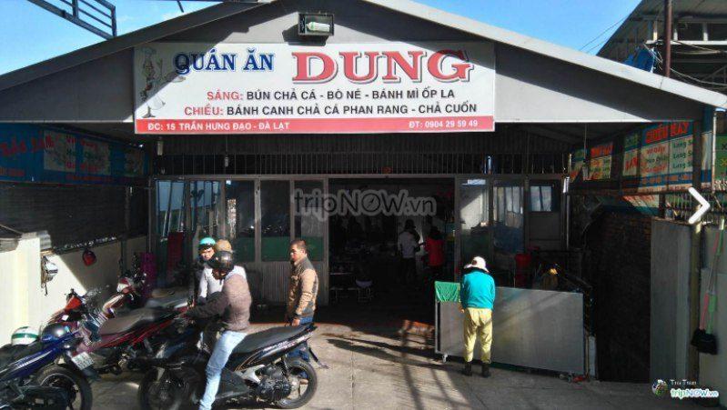 Bánh canh Đà Lạt - quán ăn Dung Phan Rang