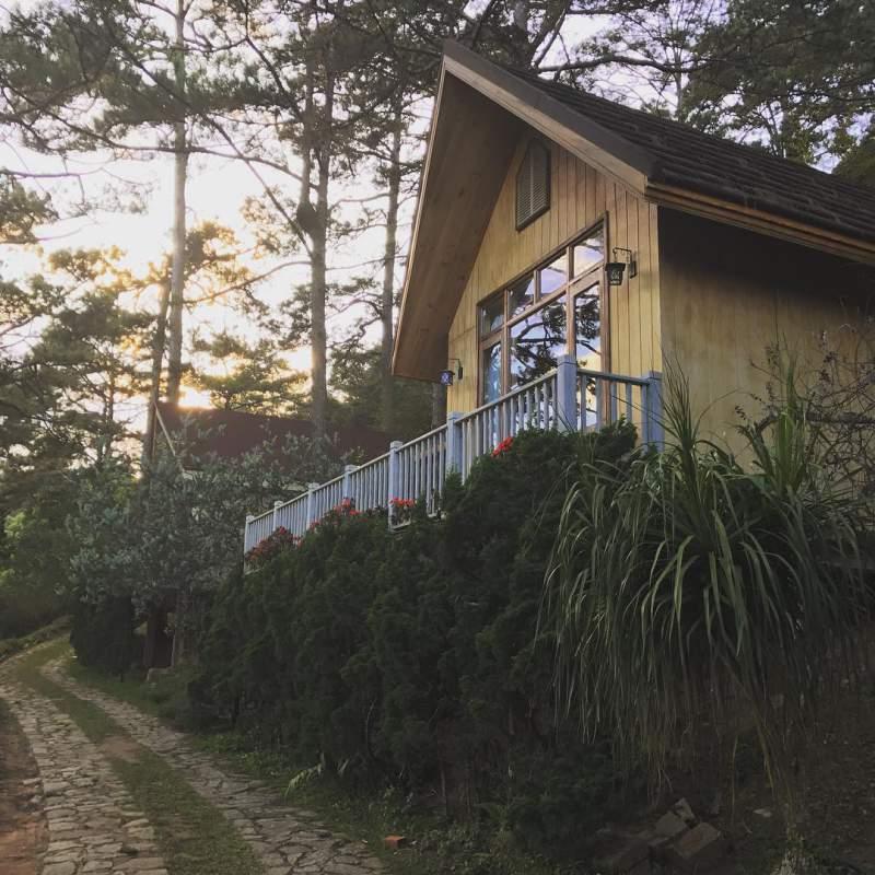 Một góc bình yên - Biệt thự giao hưởng xanh ở Đà Lạt
