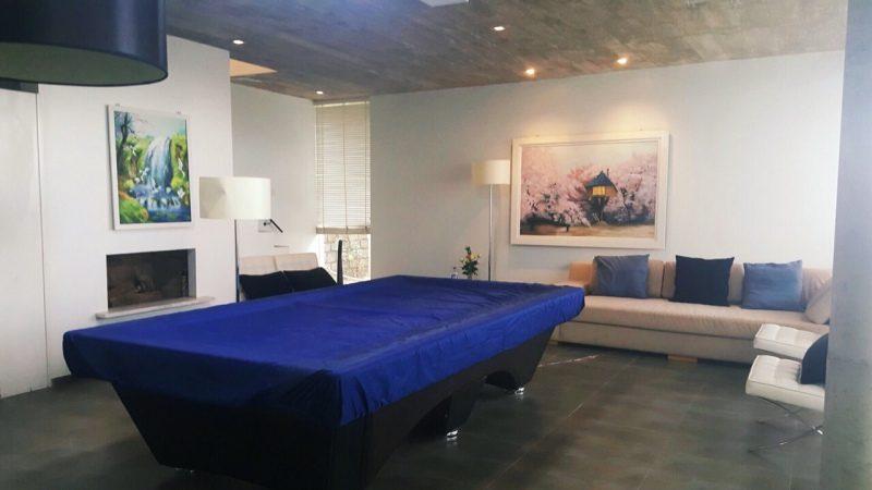 Phòng chơi Bi-a tại căn hộ C5-Nam Hồ nhà cho thuê nguyên căn ở Đà Lạt