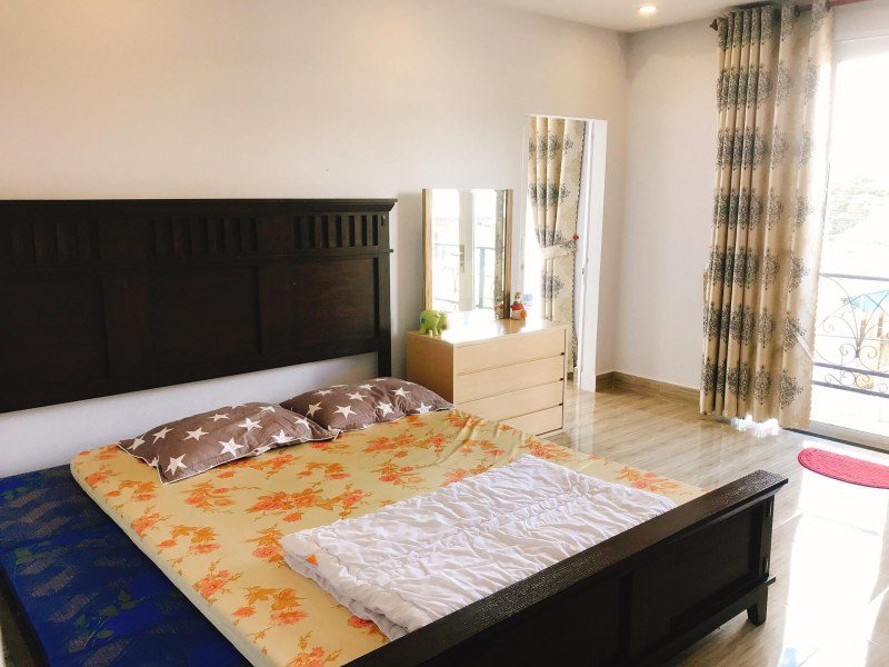 Phòng ngủ của Cẩm Tú Cầu Villa ở Tp. Đà Lạt