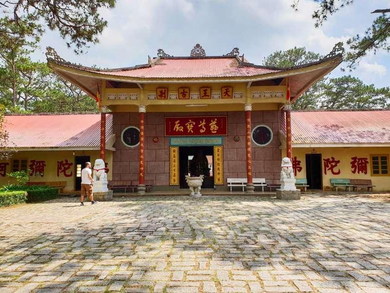 Chùa Tàu - Chùa Thiên Vương Cổ Sát ở thành phố Đà Lạt