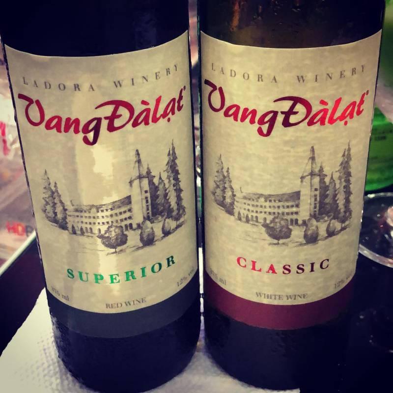 Rượu vang là đồ uống đầy tự hào của người dân ở Đà Lạt