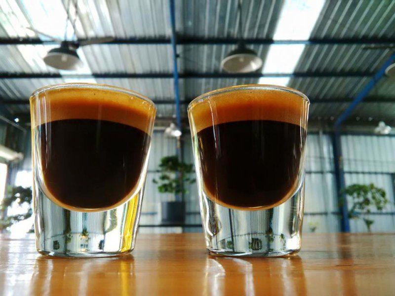 Cà phê ở Là Việt coffee thành phố Đà Lạt, Lâm Đồng
