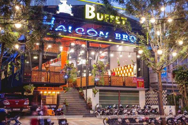 Quán HAI CÒN BBQ Buffet ở Đà Lạt
