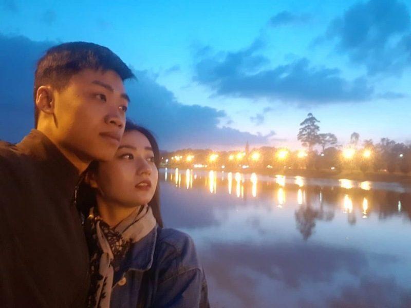 Ngắm Đà Lạt về đêm - hình ảnh trong một phim truyền hình của Hồng Kong