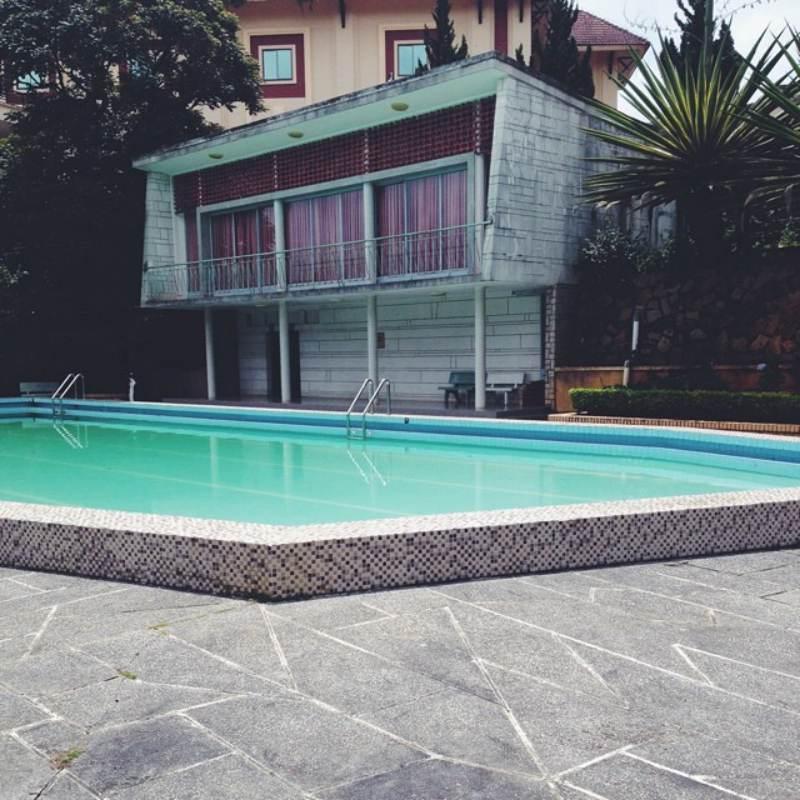 Bể nước nóng ngoài trời bí ẩn ở biệt điện Trần Lệ Xuân tại Đà Lạt